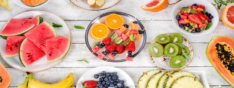 گرمای تابستان و ۷ میوه پر آب