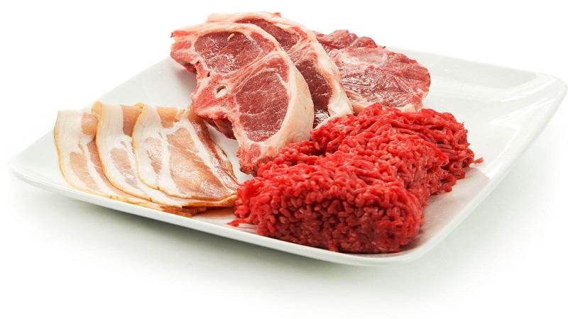 افزایش وزن با مصرف گوشت